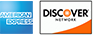 American Express and Discover Cards