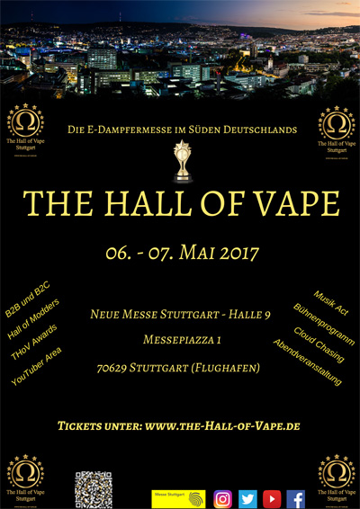 The Hall of Vape 2017
