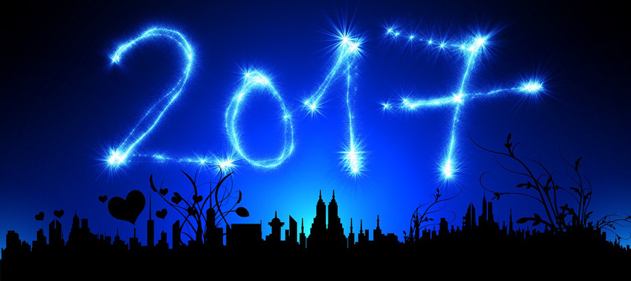 Guten Rutsch und ein frohes neues Jahr 2017
